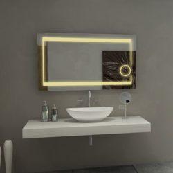 Gương Bỉ nhà tắm phòng tắm đèn Led treo tường